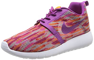7f5544526fb79 Nike Kids Rosherun Flight Weight GS White BLD Brry TTL Orng Pnk Pw