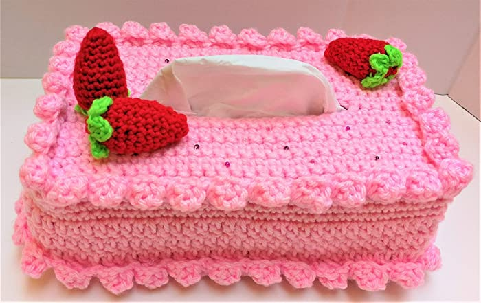 30th 40th 50th 60th 70th Birthdays Gifts Idea For Women Mom Sister Wife Daughter In Law Girlfriend Decorative Pink Strawberries Cake Facial Kleenex
