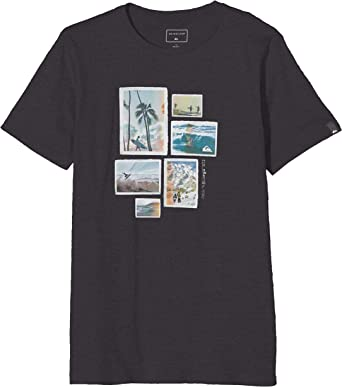 Quiksilver Island Location Camiseta de Manga Corta Niños