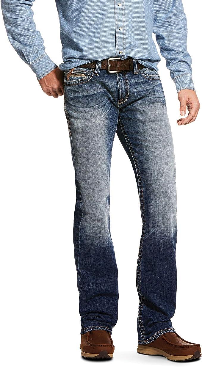 ARIAT M7 Rocker Statler Cooling Stretch Stackable Straight Leg Jean