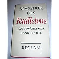 Klassiker des Feuilletons.