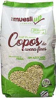 The Muesly Up Copos de Avena Finos Gluten Free - Paquete de 6 x 400 gr