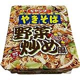 ペヤング ピリ辛野菜炒め風 やきそば 118g×18個