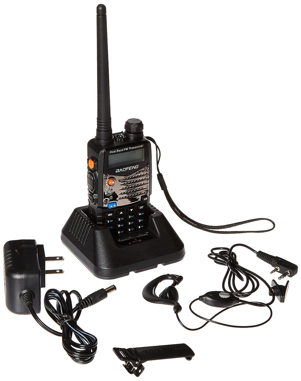 Baofeng Tech UV-5RA Black Baofeng UV5RA Ham Two Way Radio 136-174//400-480 MHz Dual-Band Transceiver