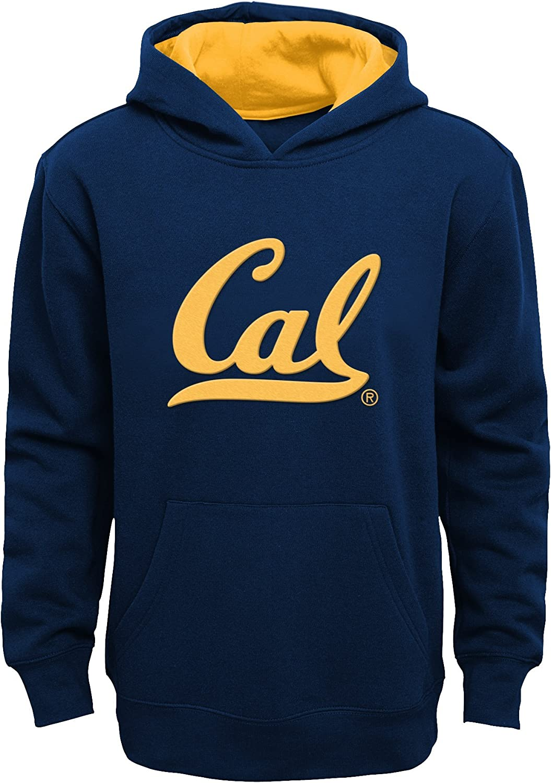 Dark Navy Kids Small 4 NCAA by Outerstuff NCAA California Golden Bears Kids /& Youth Boys Prime Fleece Pullover Hoodie