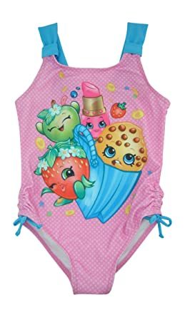 a6f680fc00882 Amazon.com: Shopkins Girls Swimsuit Swimwear: Clothing