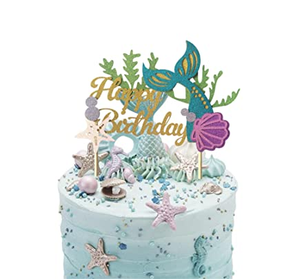Kitchen, Dining & Bar Baby Mermaid Fondant Cake Topper Other Baking Accessories