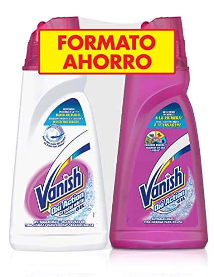 Vanish Quitamanchas Gel Oxi Pink & White - 1 l: Amazon.es ...