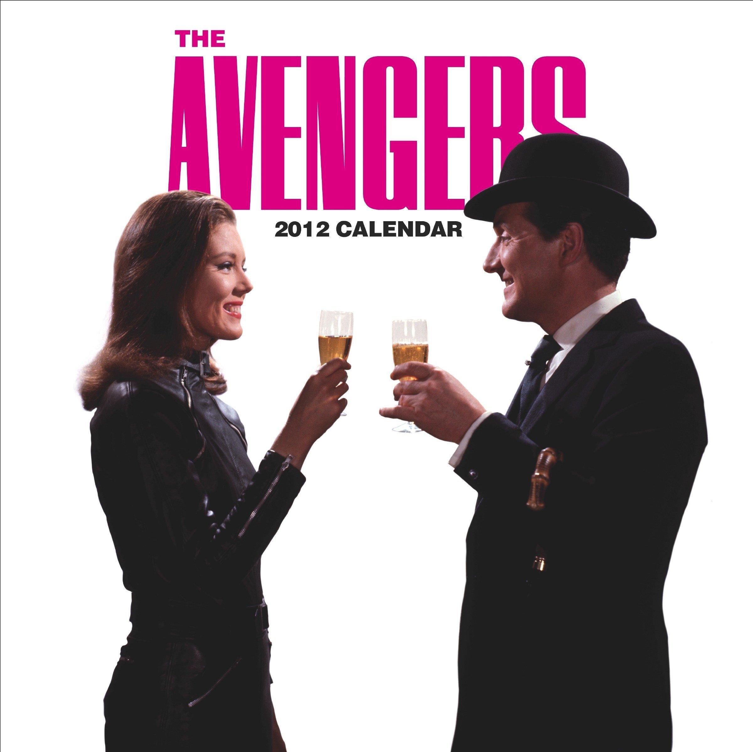 Read Online The Avengers Calendar 2012 PDF