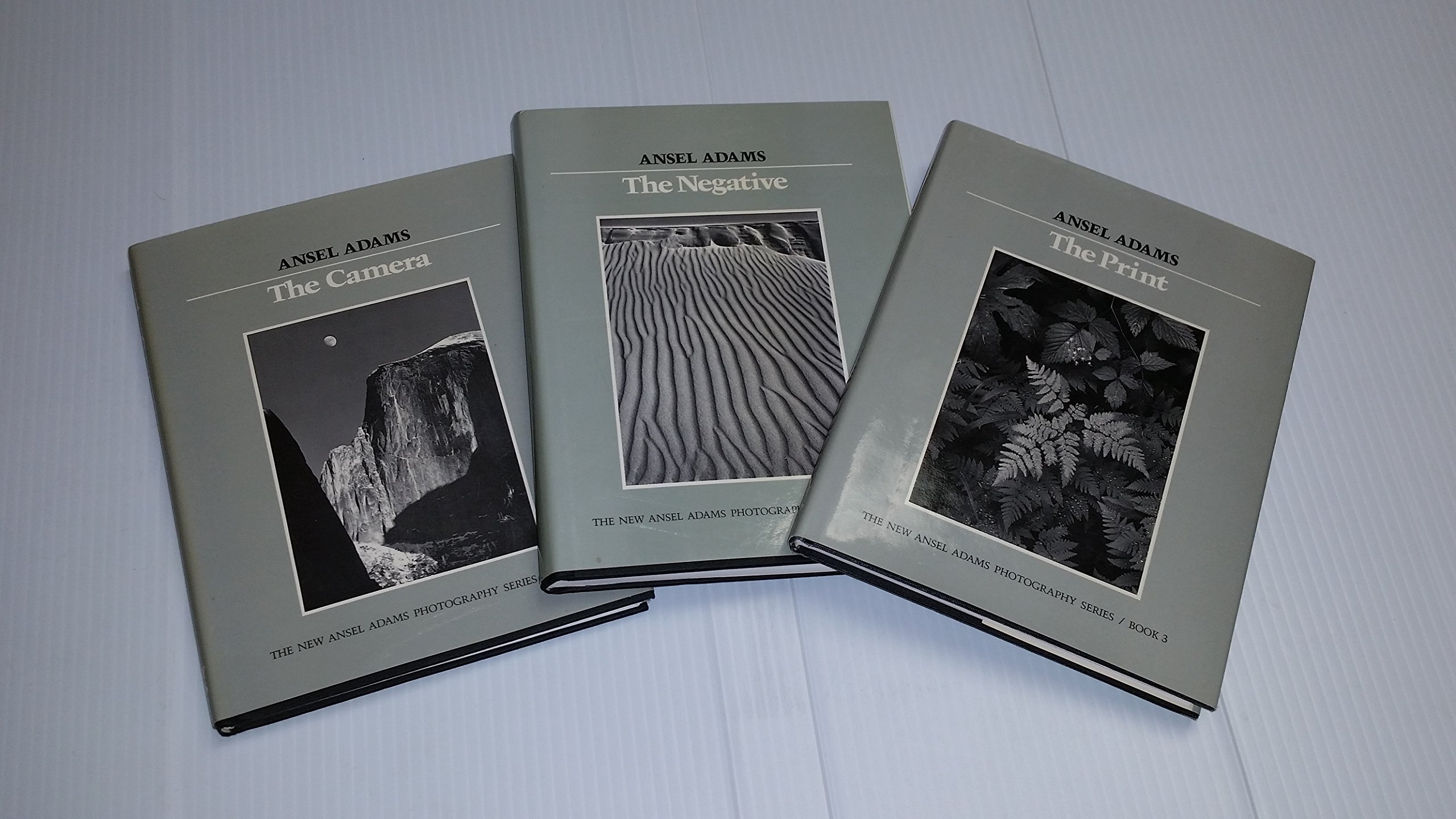 the new ansel adams photography series vol 1 the camera vol 2 the negative vol 3 the print