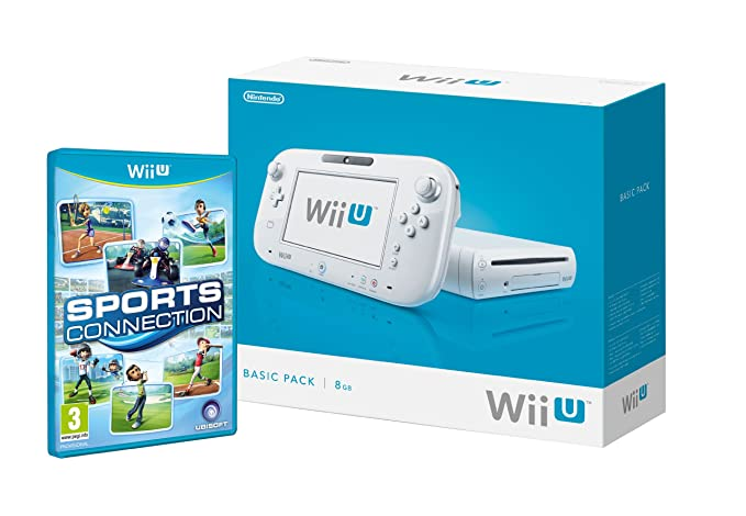 Nintendo Wii U - Pack Básico - 8 GB - Incluye Sports ...