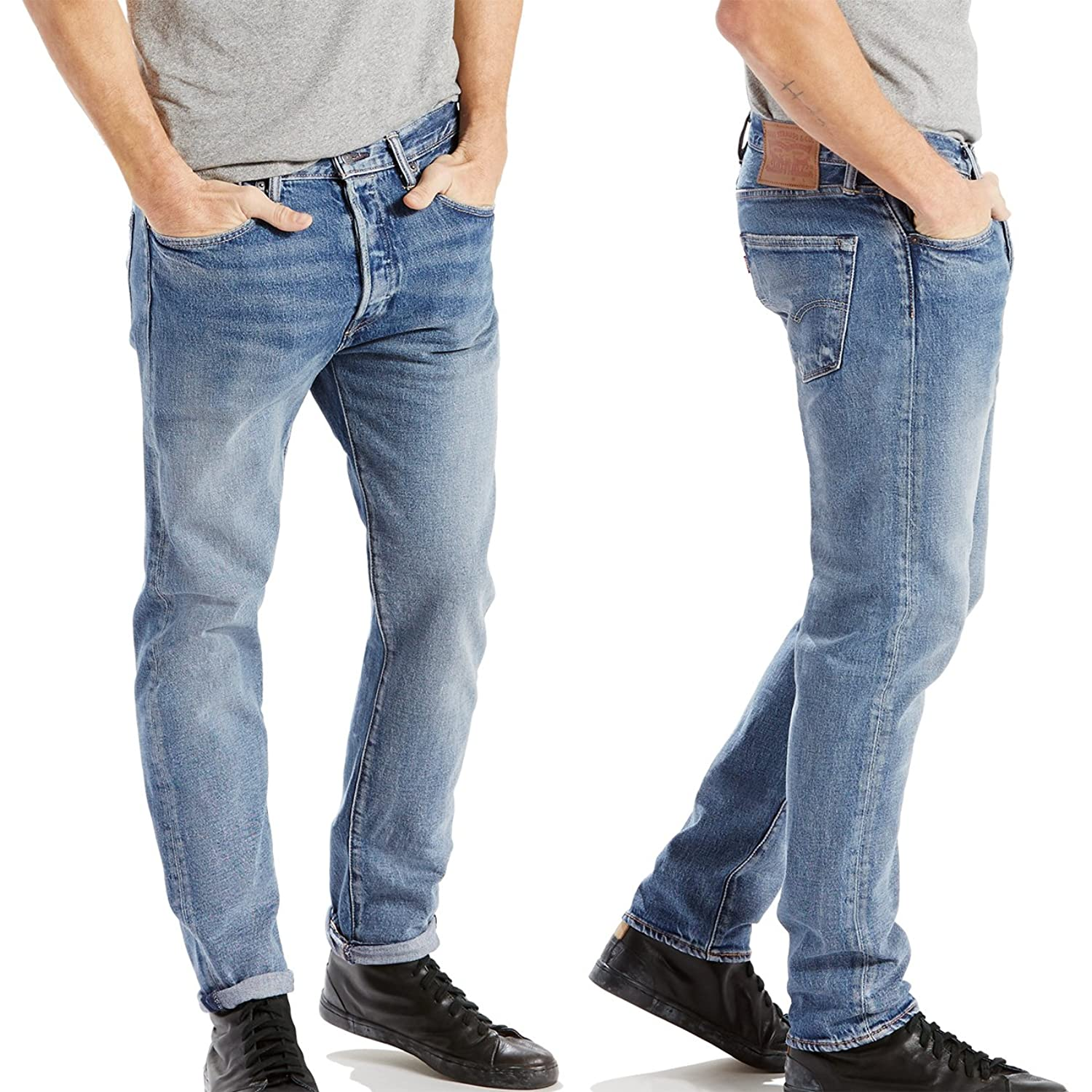 Levi Strauss 501-CT 'Slim Tapered Fit' 28894-0012 Dillinger