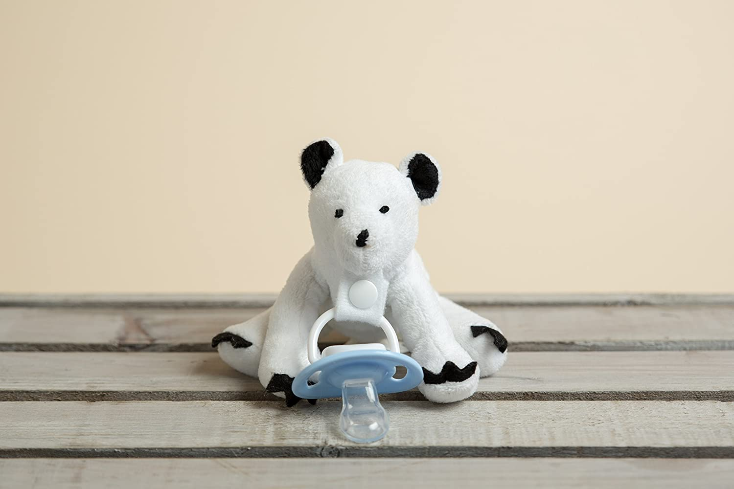 Amazon.com : ? Peluche Chupete Holder por * Parker el oso polar ...