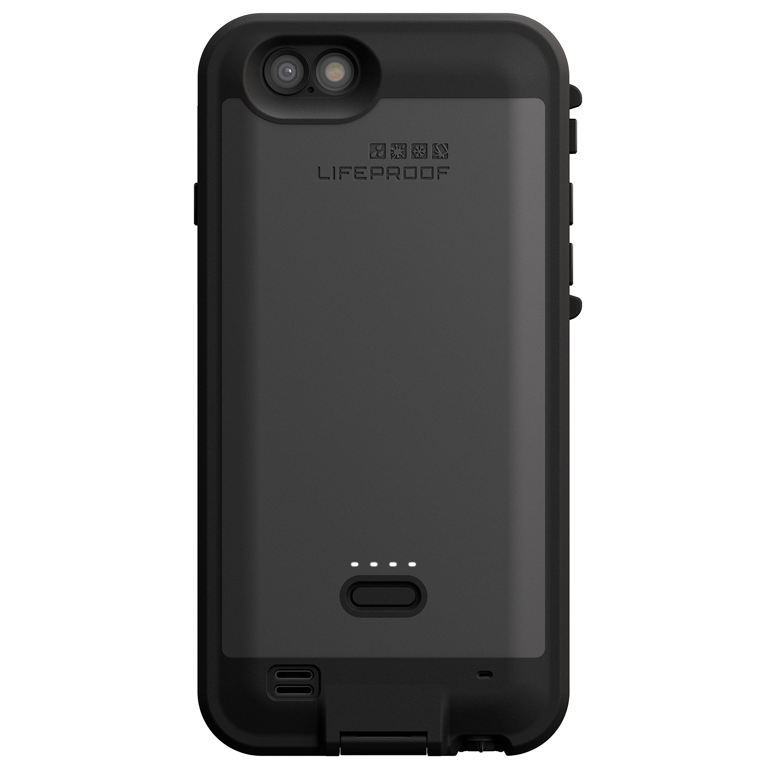 LifeProof FRE POWER iPhone 6 ONLY (4.7'' Version) Waterproof Battery Case - Retail Packaging -  BLACK