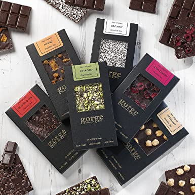 Raw Organic Chocolate Bars 6 X 110g No Added Sugar Gluten Free Dairy Free Soya Free Vegan Superfood Chocolate