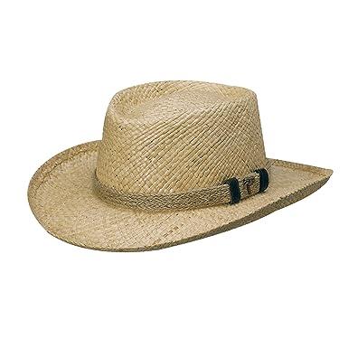 42fd934433388 Scala Organic Raffia Gambler with Jute HAT (M) at Amazon Men s ...