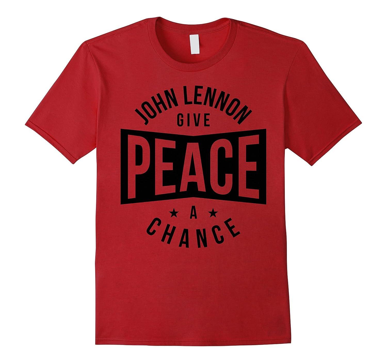 John Lennon - Give Peace a Chance T-Shirt-TH
