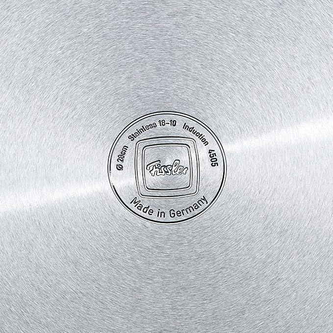 Fissler 084-117-04-000/0 - Batería de Cocina (4 Piezas), Color Plateado