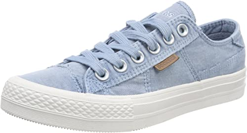 DOCKERS by Gerli 40TH201-790500 Canvas Damen Sneaker Schuhe  Weiß