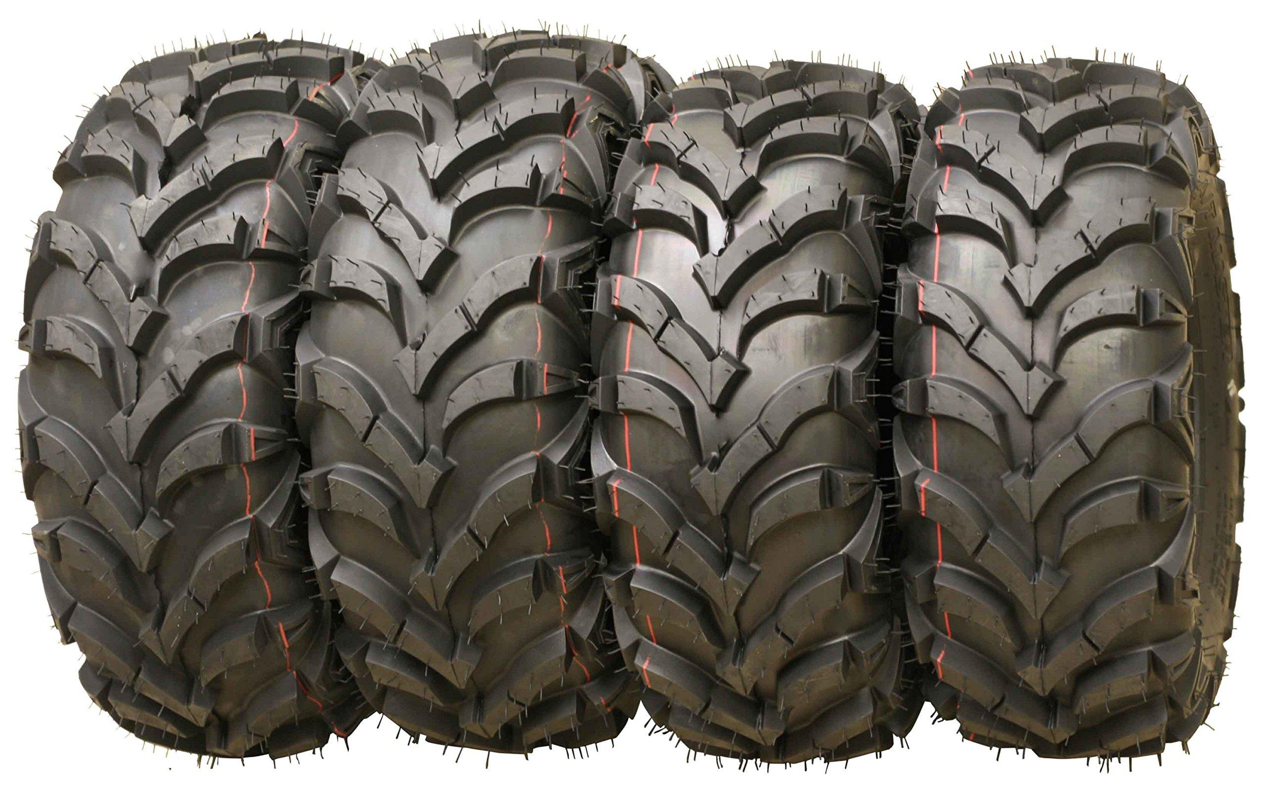 Set of 4 New ATV/UTV Tires 24x8-12 Front & 24x9-11 Rear /6PR P341 -10151/10153 …