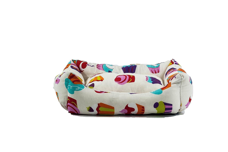 iOn Cama Cuna para Perro o Gato, 55 x 45 cm, Pastel: Amazon.es: Productos para mascotas