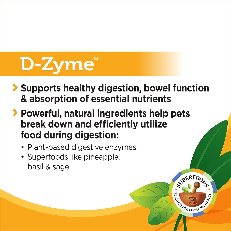 Solid Gold Suplemento de enzimas digestivas para la digestión Sana ...