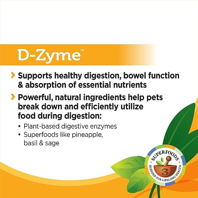 Solid Gold Suplemento de enzimas digestivas para la ...