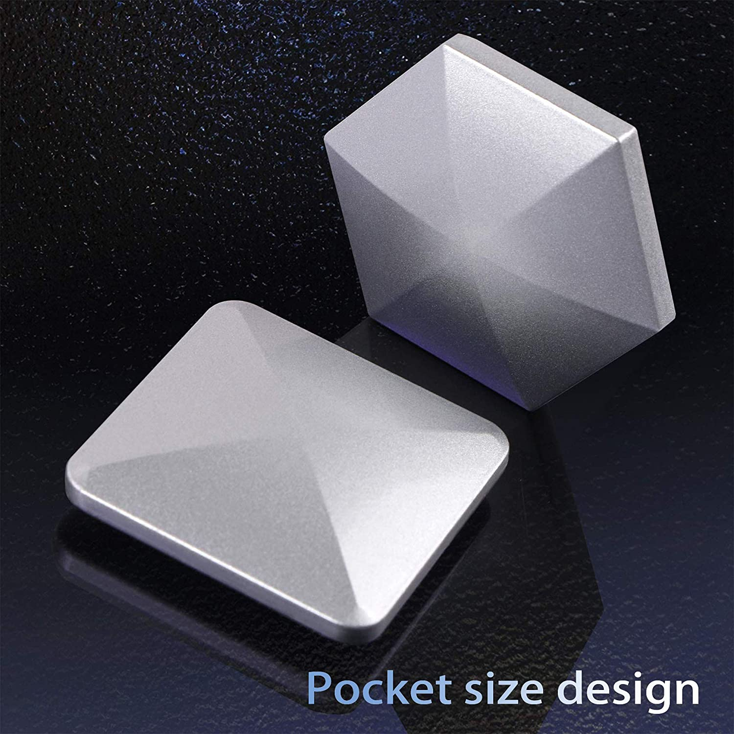 Gold Silver Office Rotary Decompression Toy 2 Pack Metal Decompressor Pocket Kinetic Energy Toys Flipo Flip Desk Toy Roronoa Zoro Desktop Flip Toy