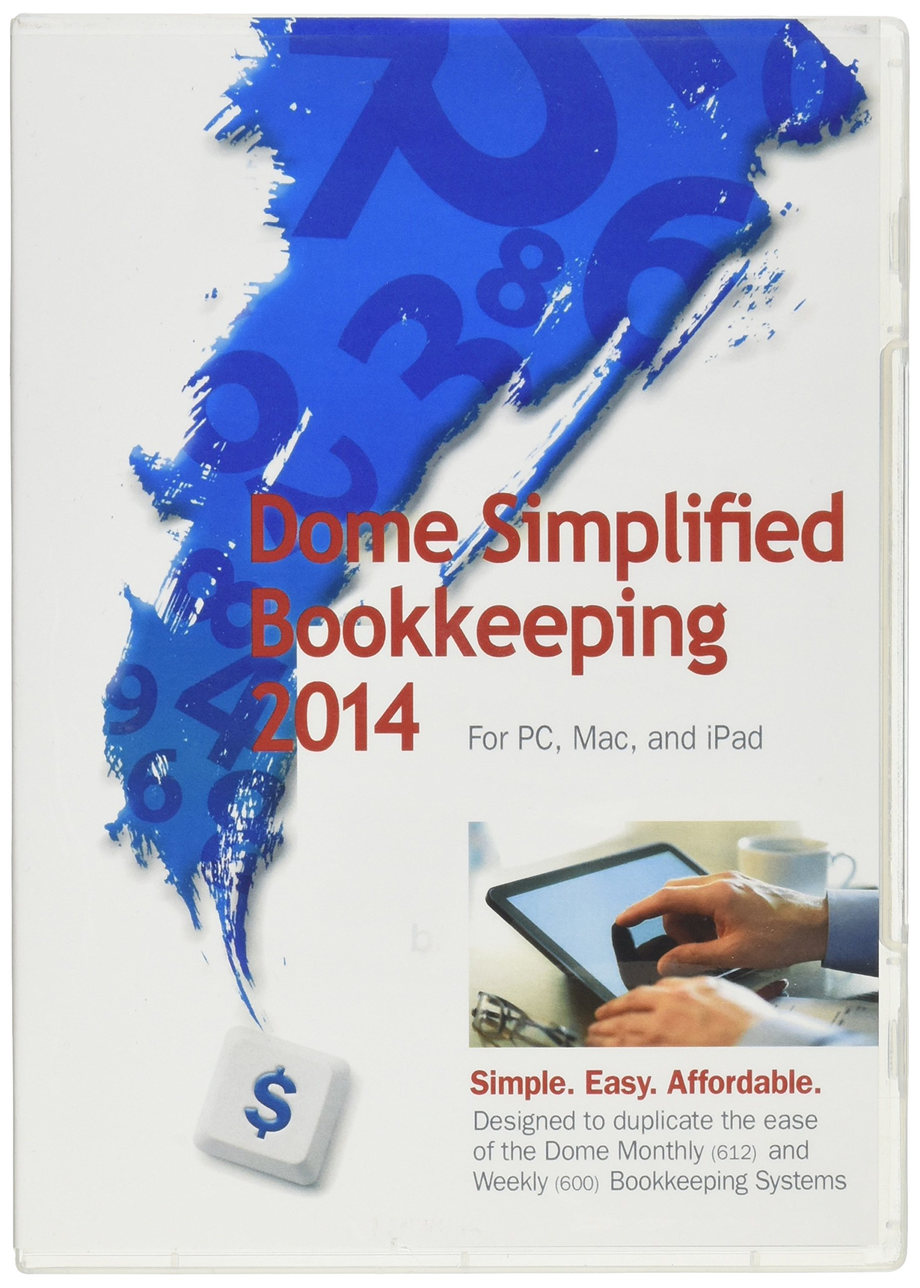 Dome Publishing Simplified Bookkeeping Software (DOM00114) by DomeSkin