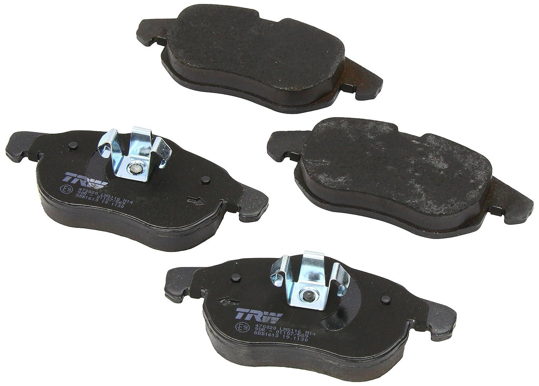 4-teilig Scheibenbremse TRW GDB3332 Bremsbelagsatz