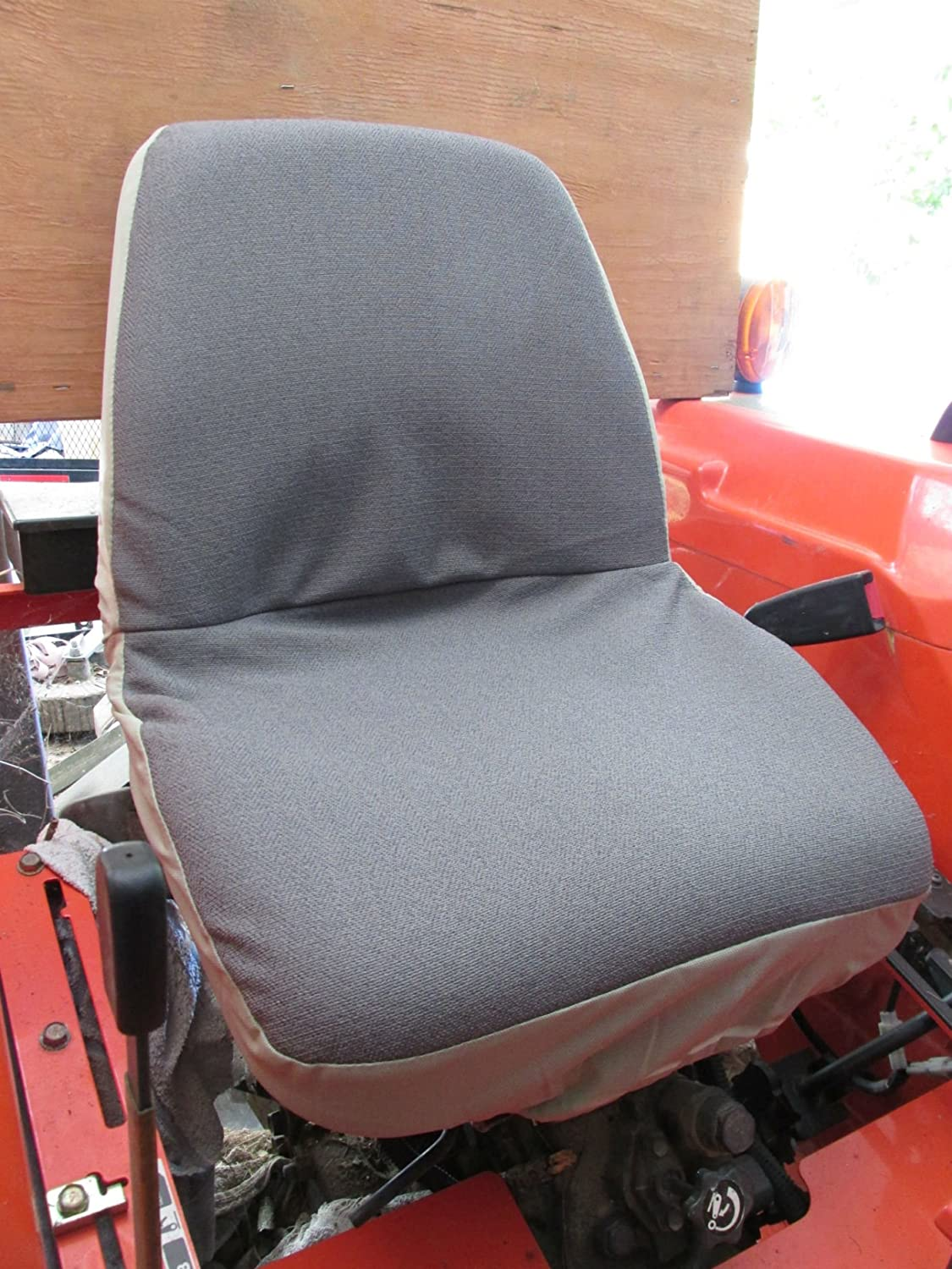Tractor Seat Two : Kubota b tractor seat cover velcromag