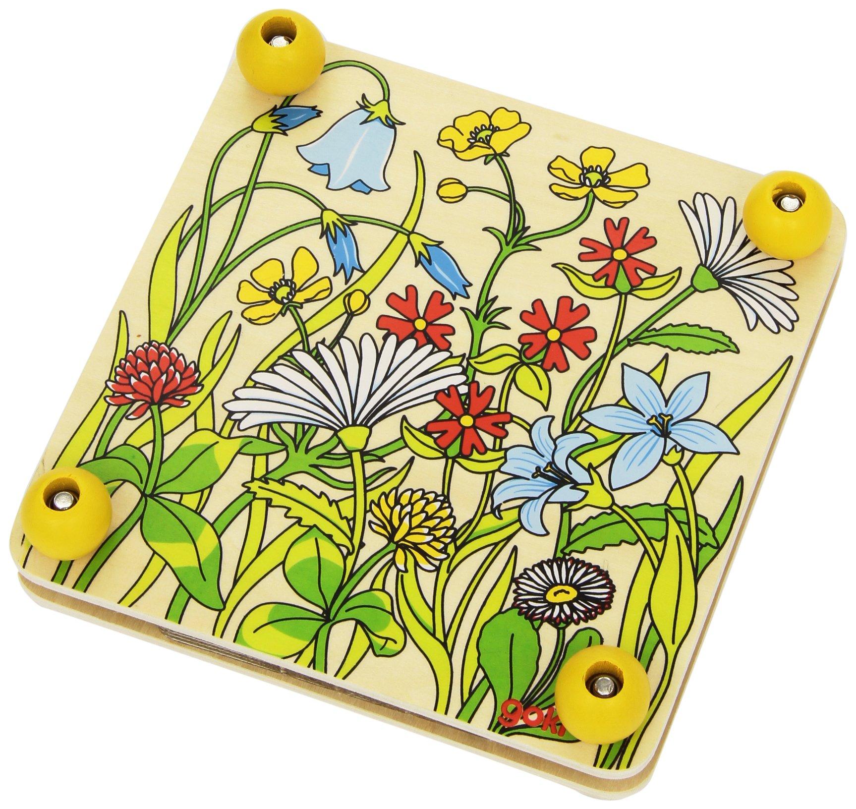 Flower Press Spring Meadow Game by Goki