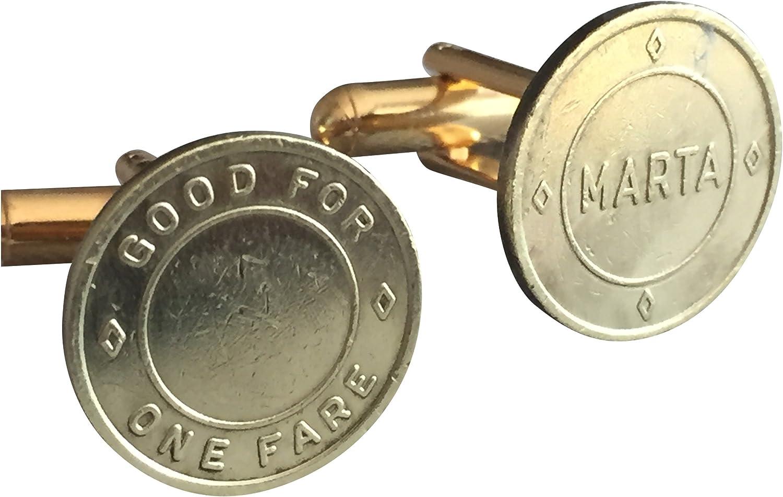 Ammo Gift Box Atlanta Rapid Transit Marta Token Cufflinks