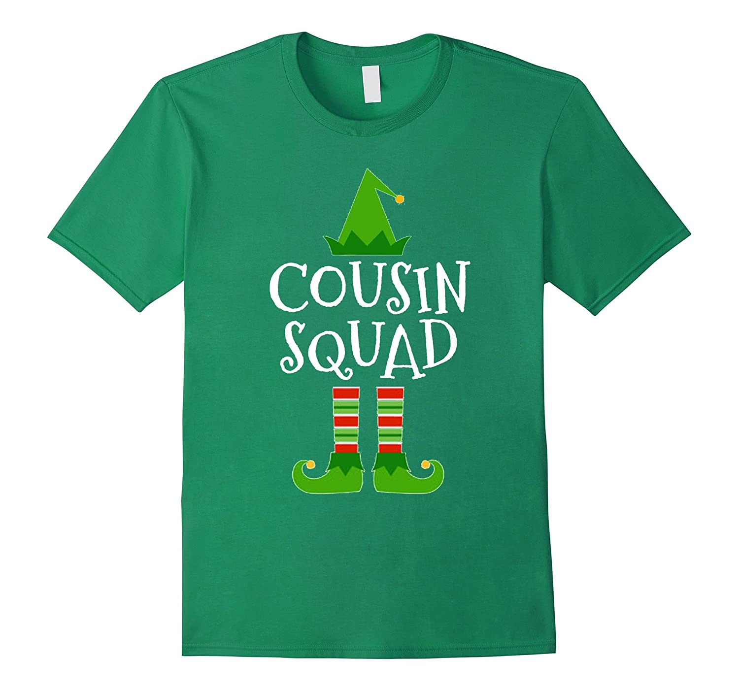 2df014160 Cousin Squad Elf Matching Family Group Christmas T Shirt-ANZ ...