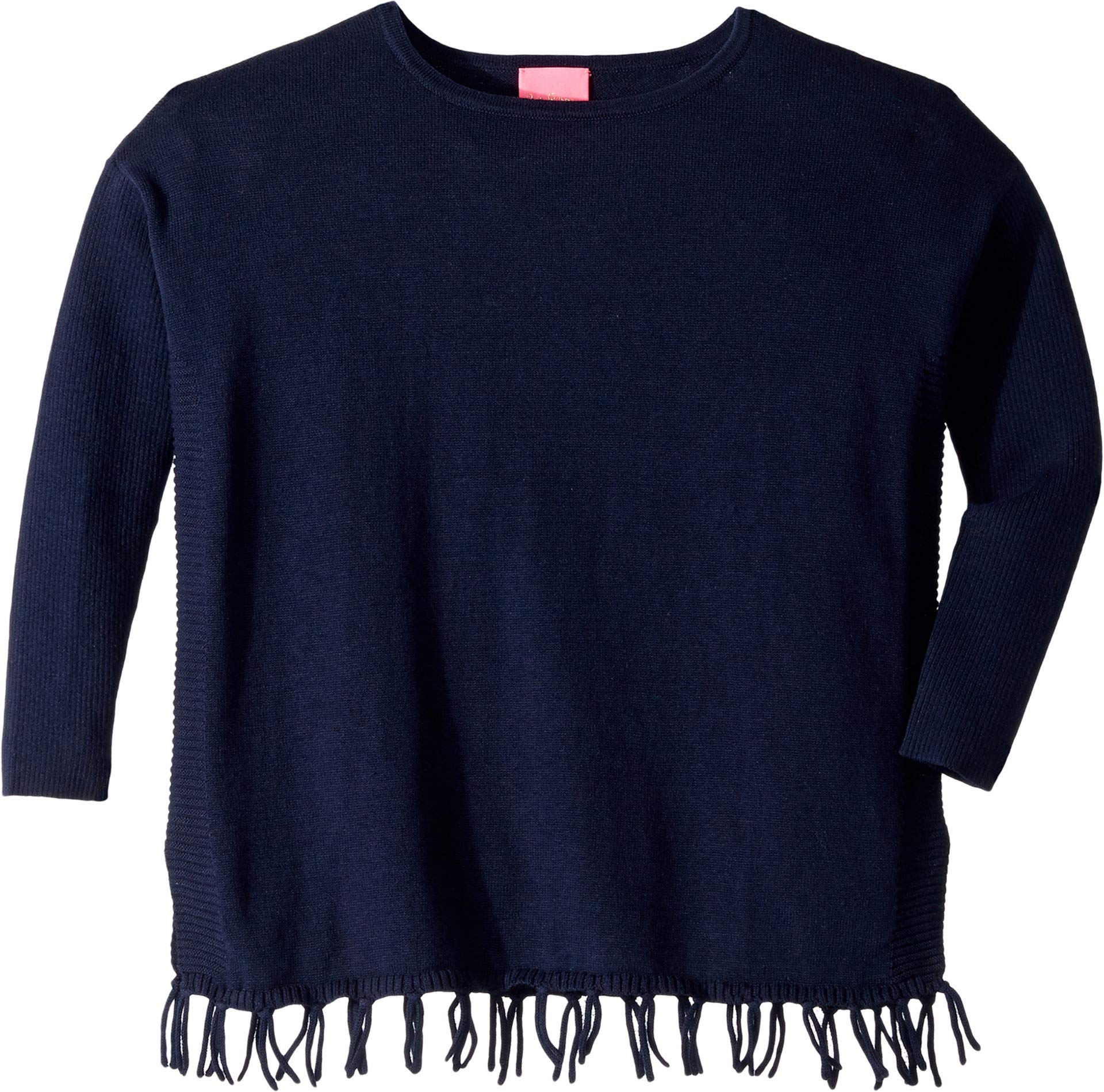Lilly Pulitzer Kids Baby Girl's Mini Ramona Sweater (Toddler/Little Kids/Big Kids) True Navy Large