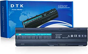 DTK MU06 593553-001 593554-001 636631-001 Laptop Battery Replacement for HP G62 G72 Pavilion G4 G6 G7 DM4 DV6-3000 DV6-4000 Presario CQ42 CQ56 CQ57 Notebook HSTNN-Q62C [10.8v 6600mah 9-cell]