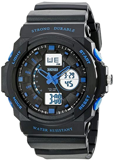 Digital Watches 2019 New Solar Power Watch Skmei Brand Men Sports Watches 2 Time Zone Digital Quartz Multifunctional Outdoor Dress Wristwatches Strong Packing Men's Watches