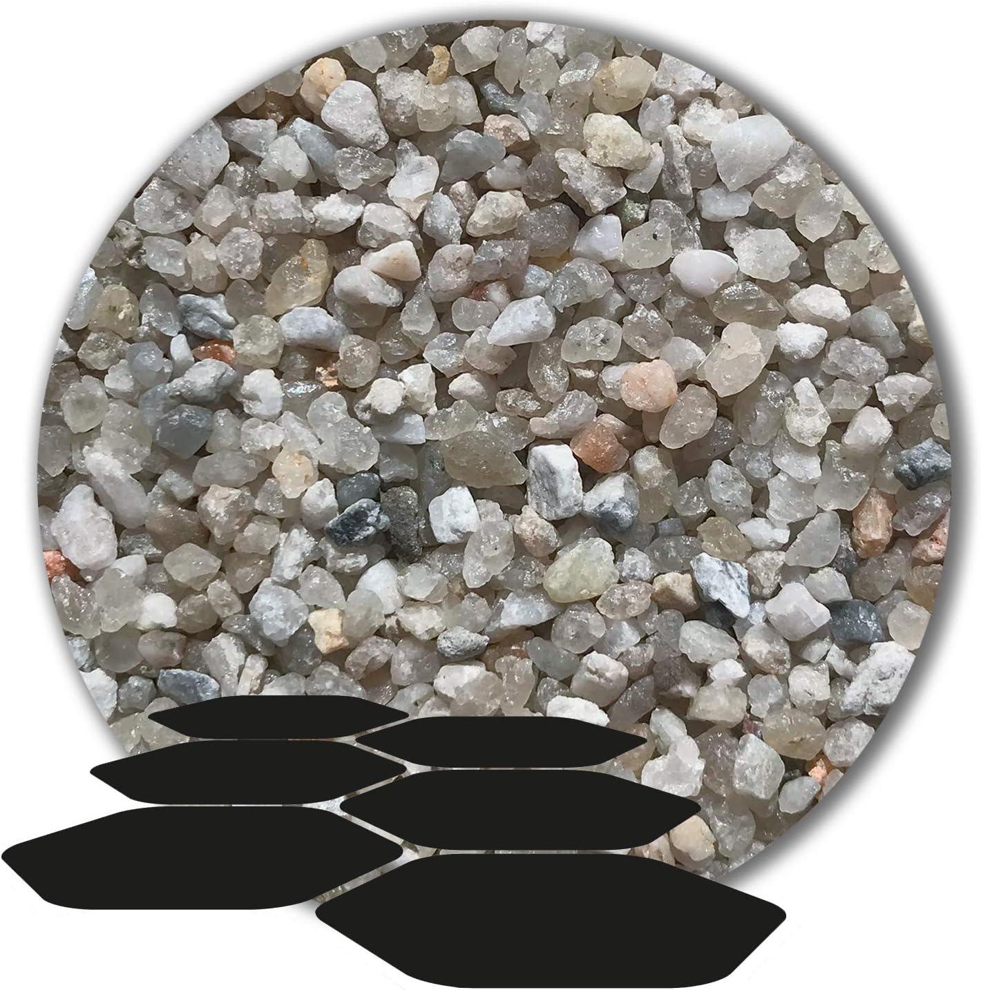 25 kg Fugensand Einkehrsand Quarzsand grau hellgrau 15 K/örnungen 3,15-5,6 mm