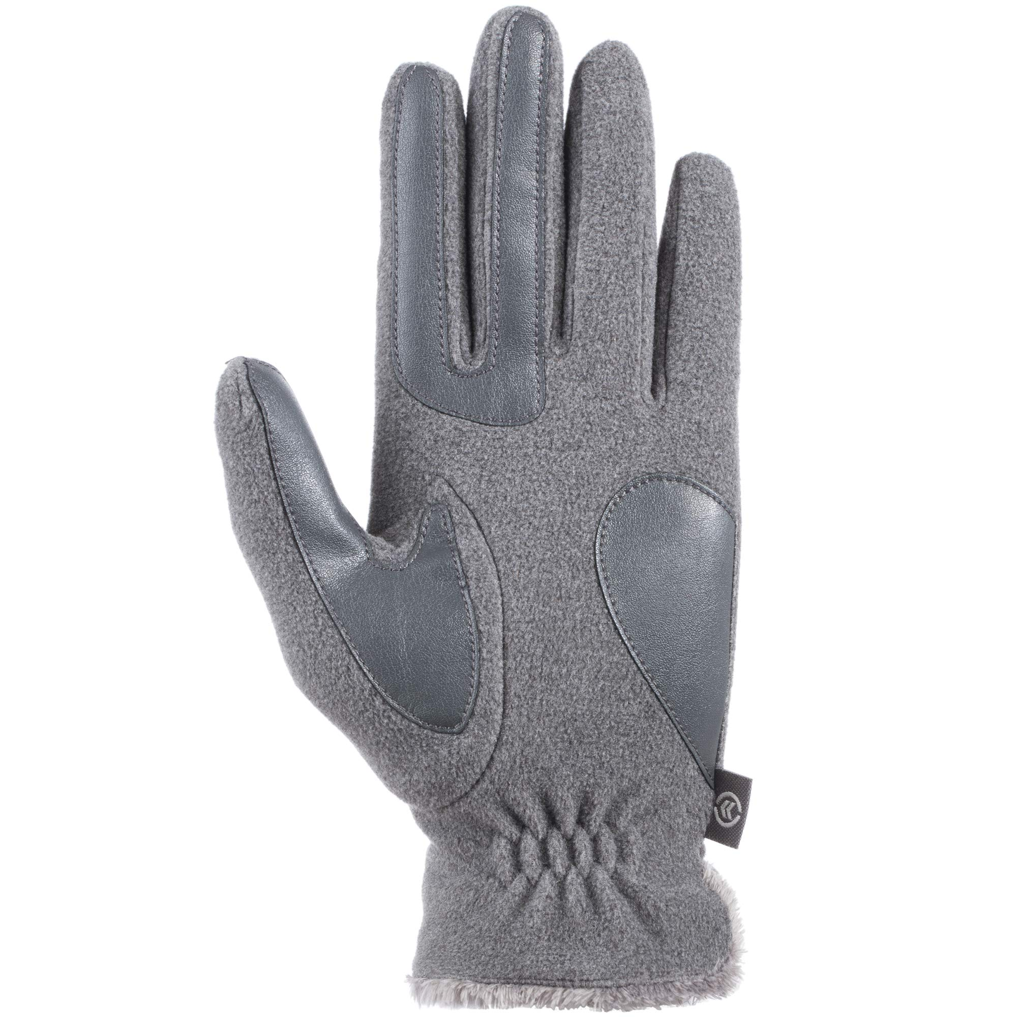 Isotoner Women's Stretch Fleece Gloves with Microluxe and Smart Touch Technology by ISOTONER