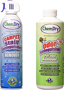 Chem-Dry Carpet Stain Extinguisher and Pet Odor Extinguisher Combo 18. oz2 pack