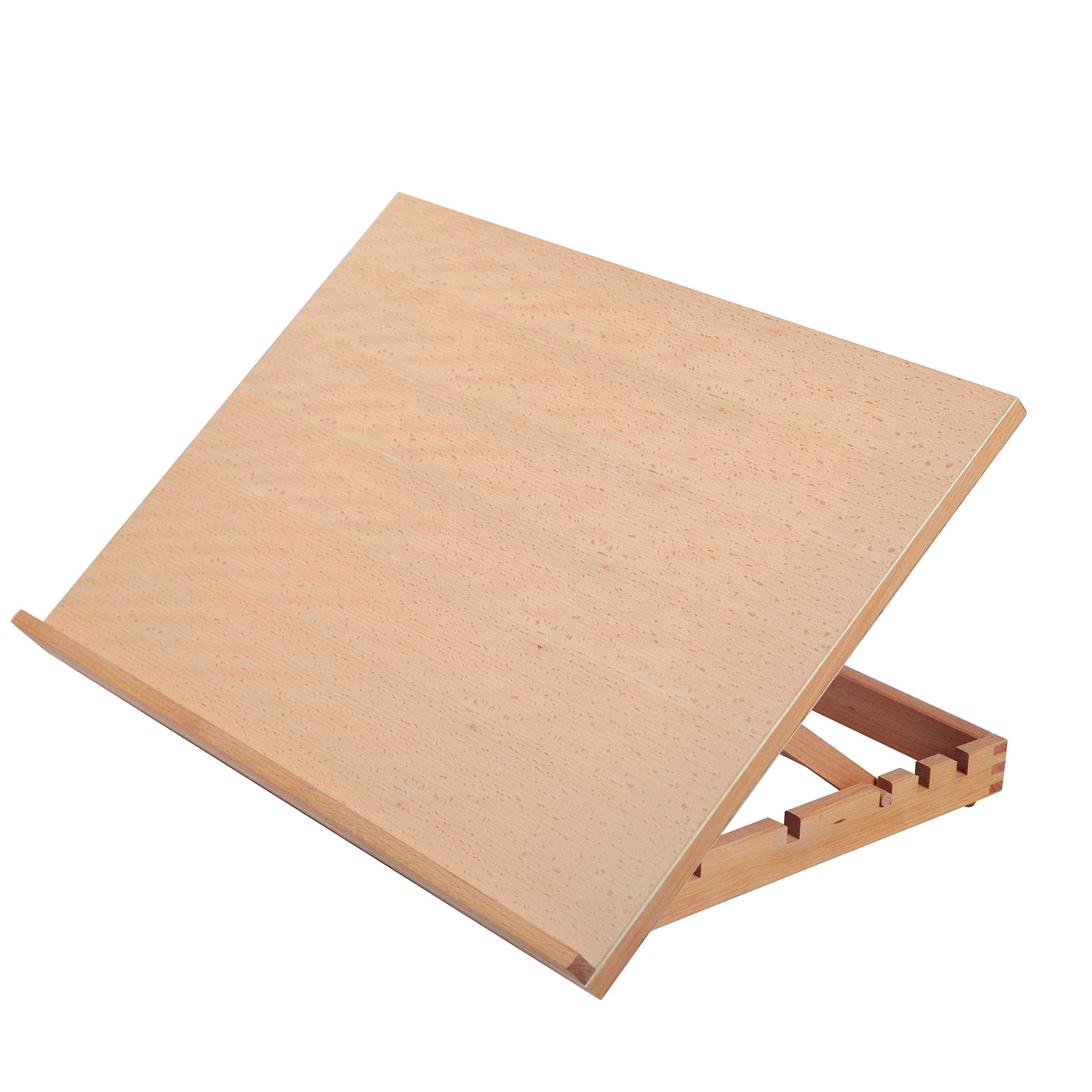 23 2/9'' L X 16 1/2'' W Adjustable (5 - Position ) Slant Drafting Table Board for Drawing, Diamond Painting, Puzzle