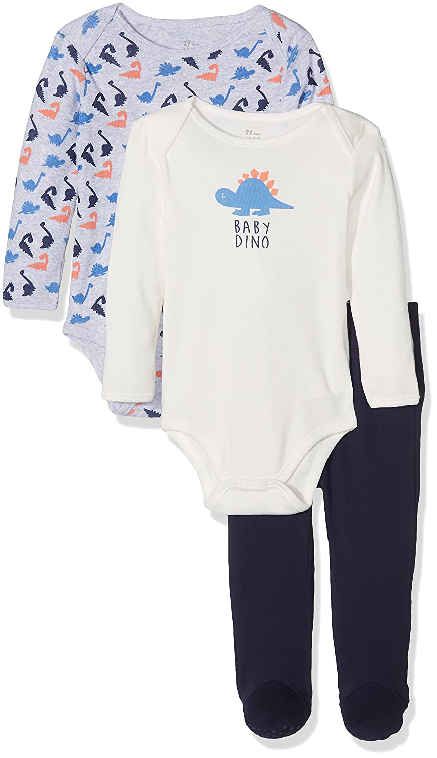 Zippy Baby Boys' Underwear Set Zippy ZBBU405_410_2 3 Piece Set For Babies Multicolor (Peacoat) 68 (manufacturer: 3/6M)
