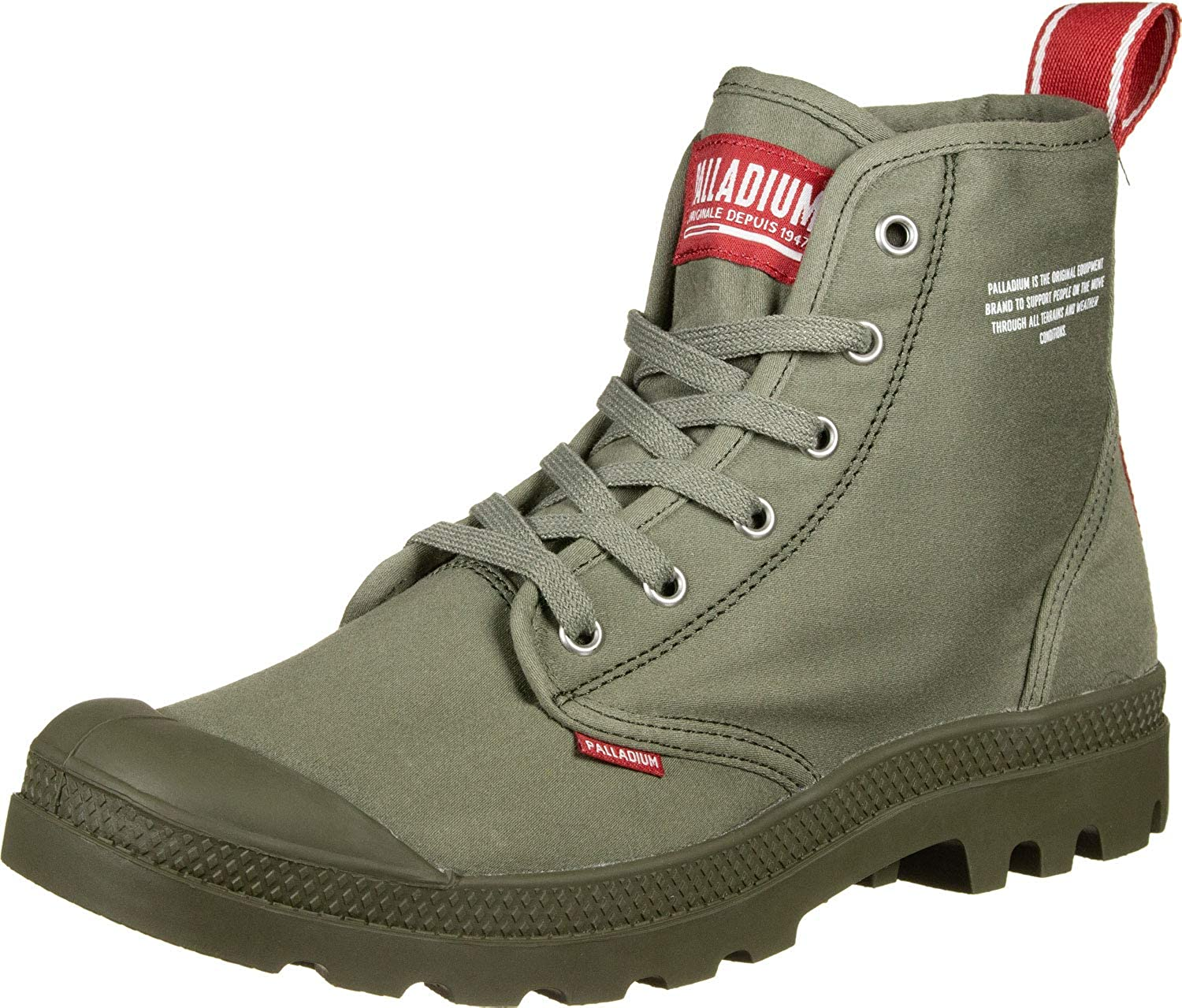 fe9615dd98e Palladium Boots Pampa HI Dare - Olive Night: Amazon.co.uk: Shoes & Bags