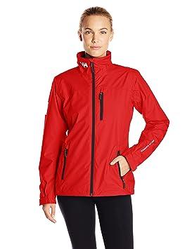 Helly Hansen W Crew Midlayer Jacket Chaqueta Impermeable, Mujer, Rojo (Red), M: Amazon.es: Deportes y aire libre