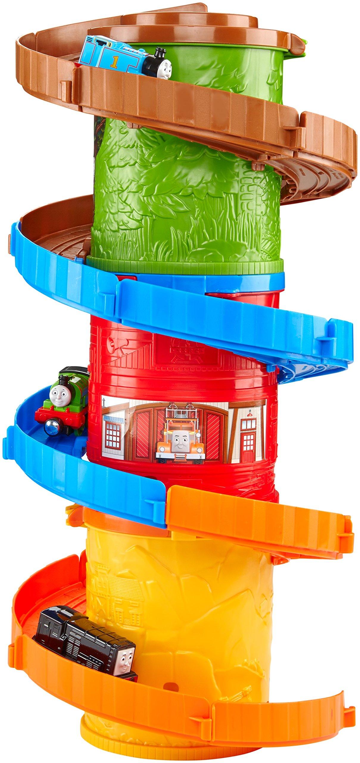 Fisher-Price Thomas & Friends Take-n-Play, Spiral Tower Tracks Mega Set