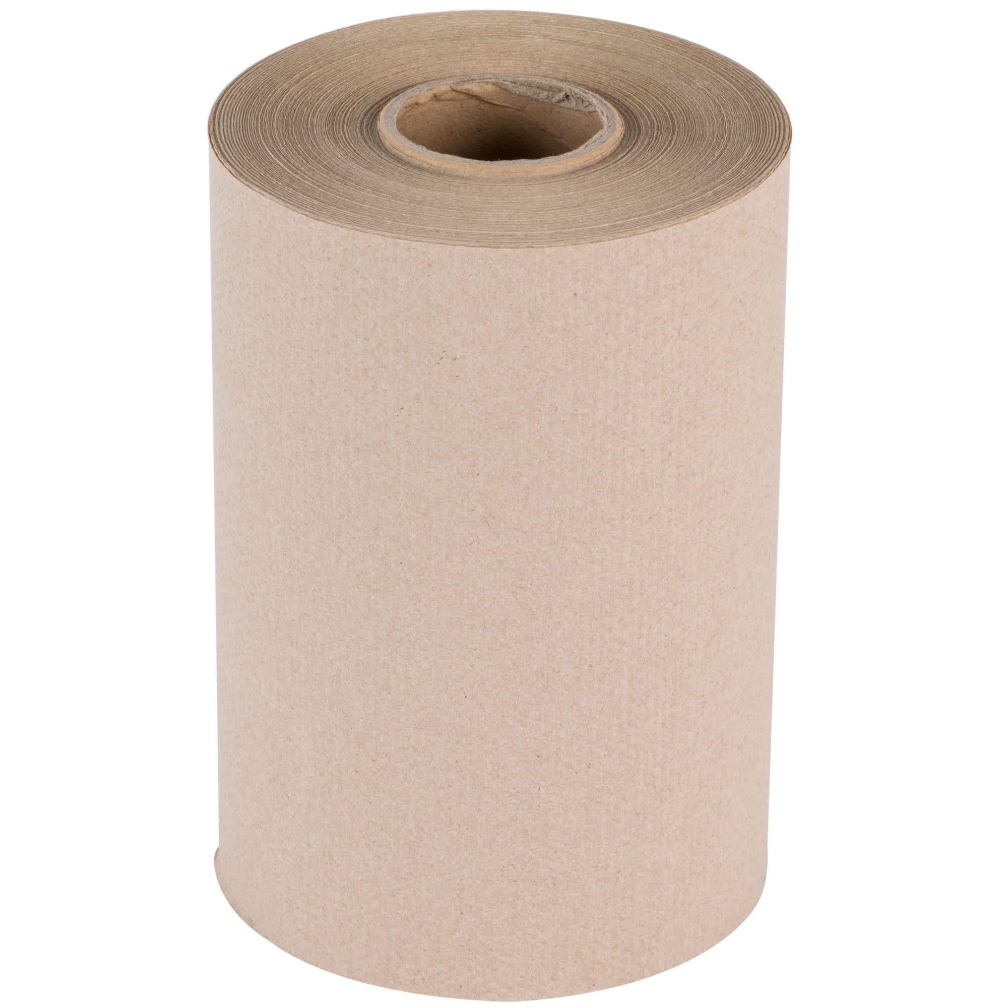 TableTop King Natural Brown Kraft Roll Towel 350 Feet / Roll - 12/Case