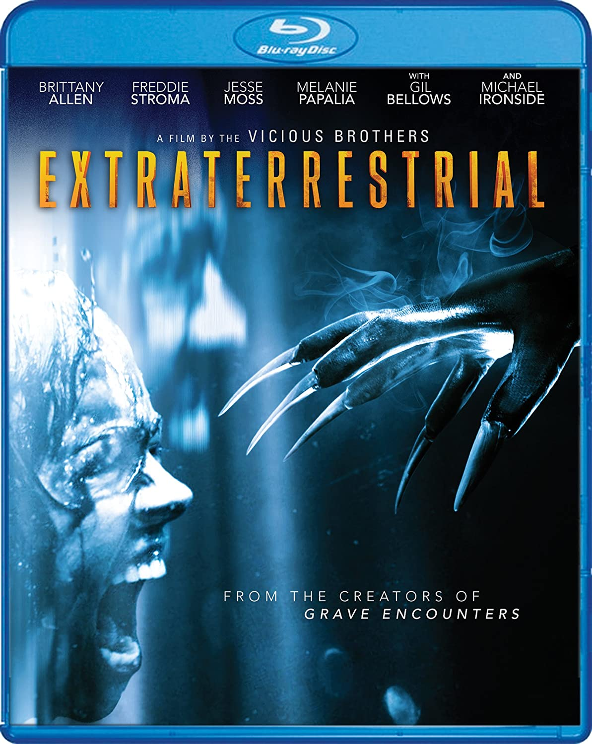 Amazon.com: Extraterrestrial [Blu-ray]: Brittany Allen, Freddie Stroma, The  Vicious Brothers: Movies & TV