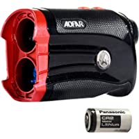 AOFAR G2 Golf Rangefinder- Two Decimal Places 6x Waterproof Laser Range Finder with Slope, Pulse Vibration, Carrying Case, Compatible with Panasonic Battery, Gift Packaging
