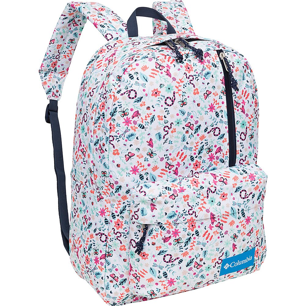 Amazon.com | Columbia Sun Pass Day Pack Omni-Shield Backpack (One size, Red Velvet18) | Backpacks