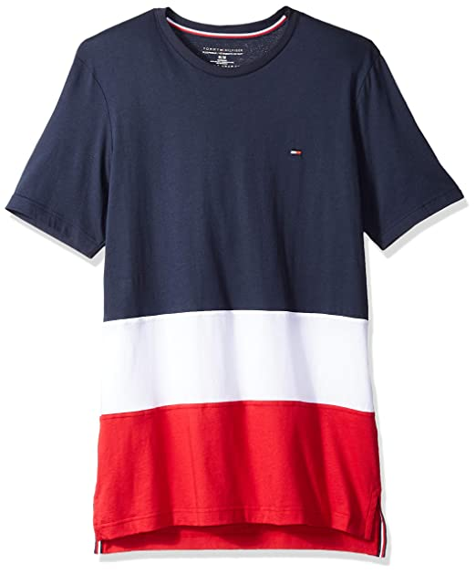 e2a1ea03f58c Tommy Hilfiger Mens Standard Modern Essential Crew Neck T-Shirt  Amazon.ca   Clothing   Accessories